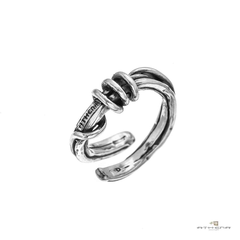 Anello uomo in argento 925‰ brunito | at1032b