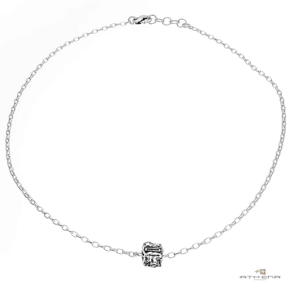 Collana in argento 925‰  naturale | cn6052ub